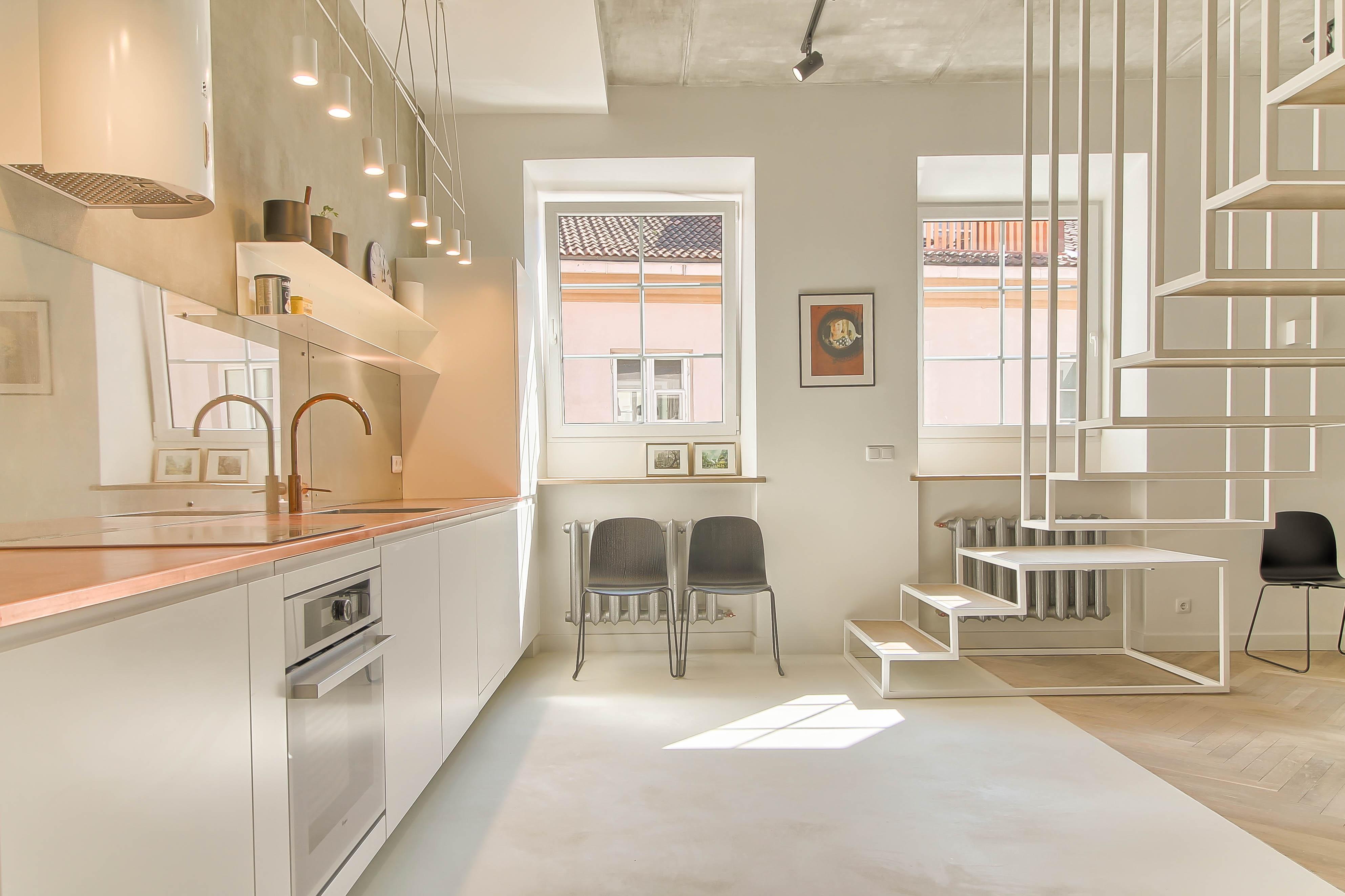 Buto interjero dizainas, virtuvės dizainas