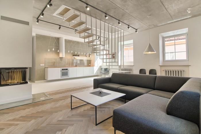 Buto interjero dizainas, laiptų dizainas