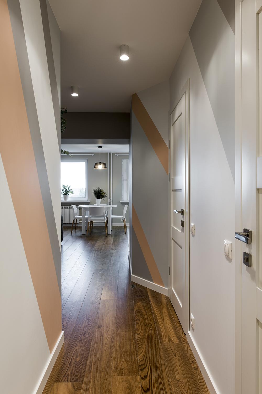 Buto interjero dizainas, koridoriaus dizainas