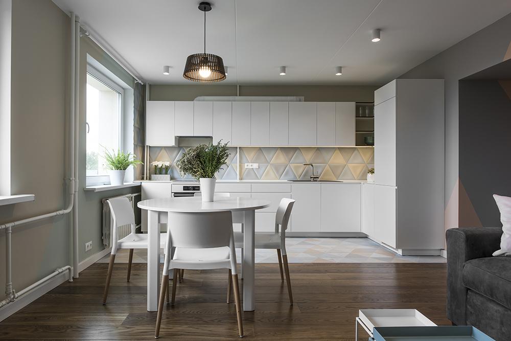 Buto interjeras, virtuvės dizainas