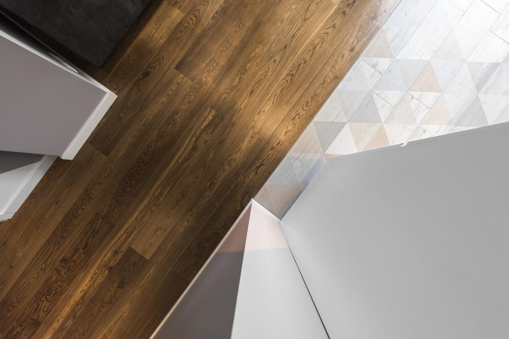 Buto interjeras, grindų dizainas