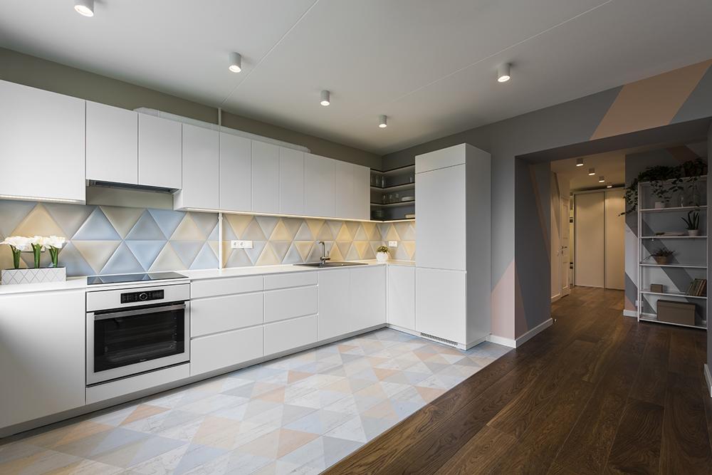 Buto dizainas, virtuvės interjeras