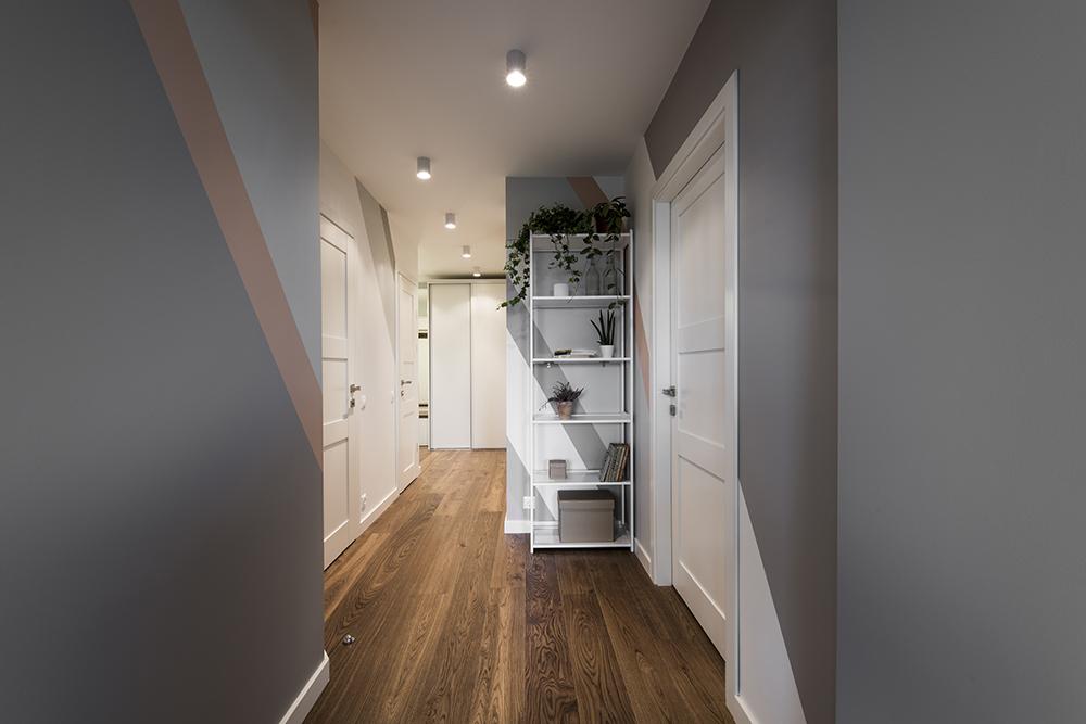 Interjero dizainas, koridoriaus interjeras