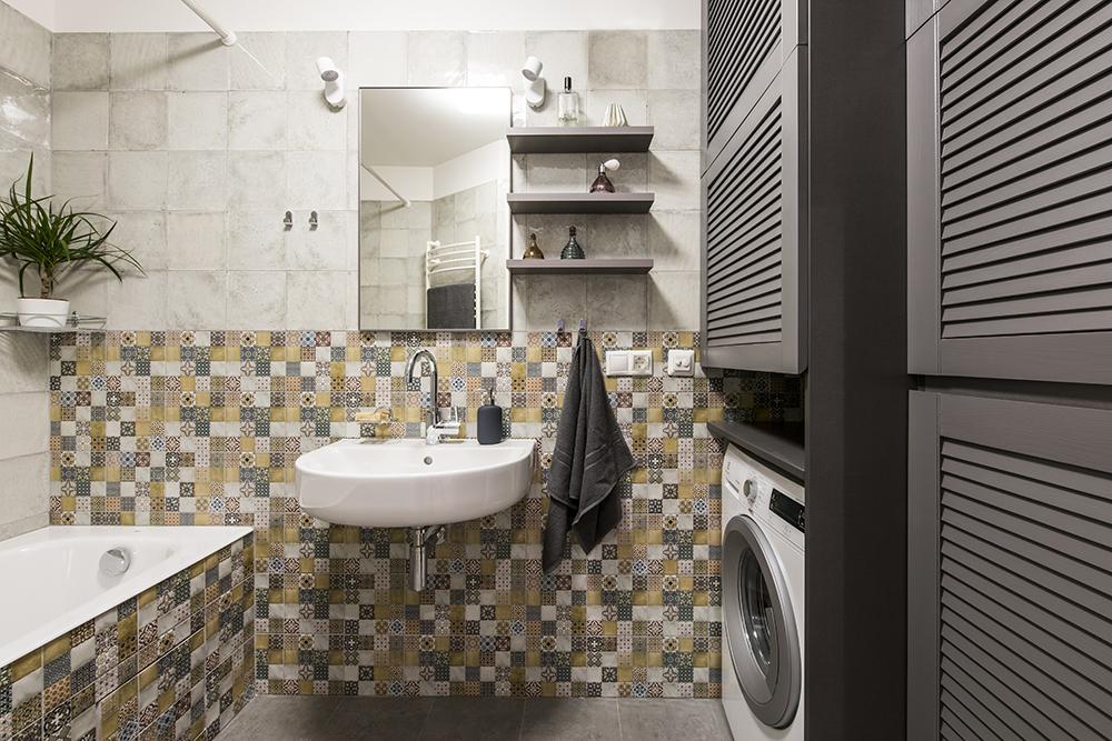 Buto interjeras, vonios interjero dizainas